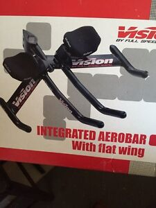 Bike Aerobar with Flat Wing