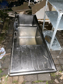 Double commercial sink
