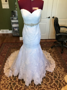 Never Been Worn or Altered Wedding Dress