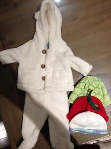 Girls cold weather suit