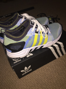 Palace x Adidas EQT Shoes Sky Blue size 10.5 (hype beast)