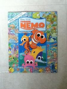 Large Look and Find Nemo Softcover Book