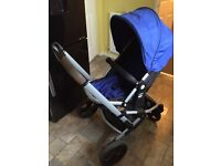 Mothercare xpedior expedior pram buggy stroller car seat included