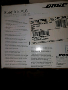 Bose  wireless home audio link. BRAND NEW !!!