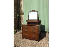 Hall dresser/ dressing table. Delivery possible.