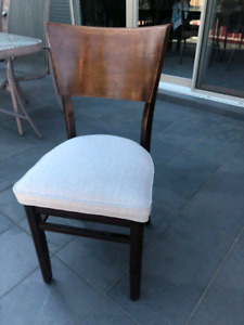 8 Dining room chairs Newly Upholstered