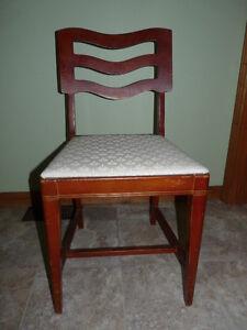 4 chairs, matching