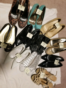 Shoes $2 each or $15 for all
