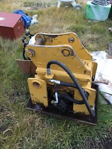 Allied 8700 b hoe compactor. Good cond.