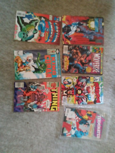 Assorted Lots Of Comic Books