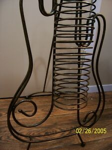 CD Rack Handcrafted Hod Iron Decoritive sell or trade