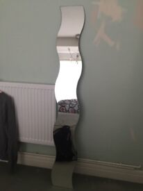 Ikea wavy mirror no brackets collection only Moortown no time wasters please