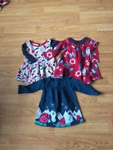 6-12 month Tea brand girls dresses
