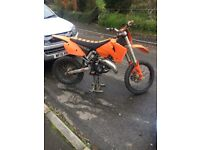 ***SOLD***Ktm exc 125 53 plate (road legal) ***SOLD***