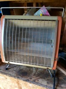 Chauffage heater fan 110v ge