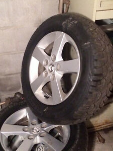 madza  tires and  rims