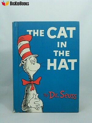 The Cat In The Hat 1957 Dr. Seuss Houghton Mifflin Extremely Rare First Edition
