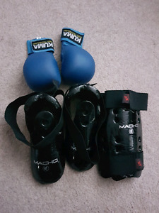 Karate martial arts sparring gear