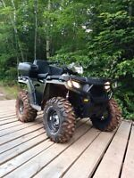 2014 sportsman 570 trade for snowmobile