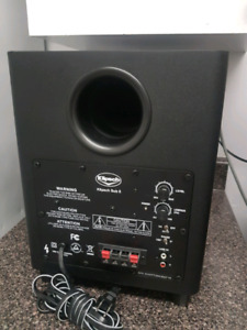 KLIPSCH Sub 8, Powered Subwoofer, 100 Watts.