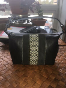 New Small Leather Coach Handbag