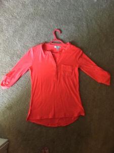 Magazine brand coral shirt!