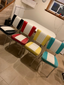 Retro - Kitchen Tables and Chairs - New
