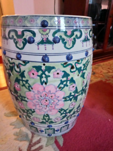 BEAUTIFUL Chinese Ceramic Garden Stool for $100 or best offer