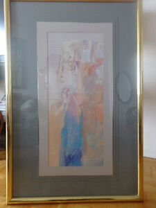 PROFESSIONALLY FRAMED ABSTRACT ART - ORIGINAL PAINTING Oakville / Halton Region Toronto (GTA) image 1