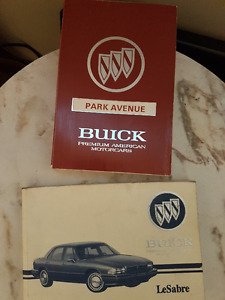 BUICK  Owner's manual