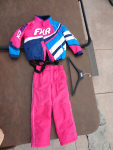 Like New FXR Youth Cold Cross Size 10 Snow Suit w/ Alpintek Pant