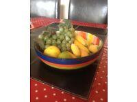 Retro bowl and pretend fruits