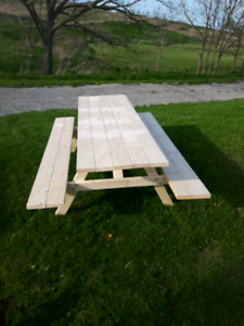 Picnic tables best around professionaly made