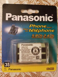 BRAND NEW SEALED PANASONIC HHR-P107 BATTERY FOR CORDLESS PHONE