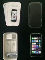 Green iPhone 5c,8gb Brand New Condition. APPLE WARRANTY 3mn