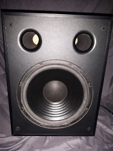 PSB Alpha center and PSB Alpha subsonic 5 subwoofer
