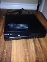 APEX DVD player with remote