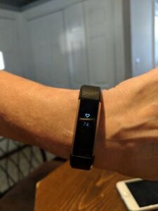 FitBit Alta HR (heart rate monitor)