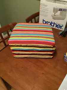 4 Lawn Chair Seat Cushions Peterborough Peterborough Area image 2