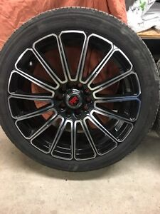 """17"""" rims and rubber WINTER"""