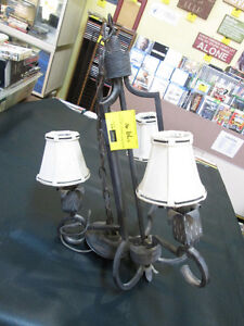 Hanging Light with mini Shades For Sale At Nearly New Port Hope