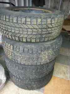 215-70-15 firestone winter force studed tires