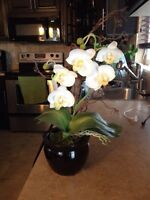Fake plant orchids