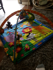 Baby Play Mat and Swing
