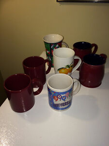 Lot de tasses à café (7)