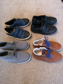 Bundle of boys shoes. Size 13.
