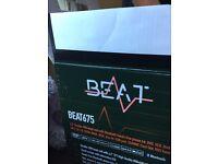 Beat 675 double din head unit, dvd, mp3, divx, usb, bluetooth etc