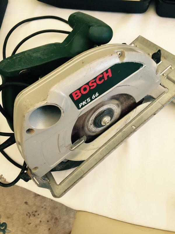bosch pks 66 electric saw in grays essex gumtree. Black Bedroom Furniture Sets. Home Design Ideas