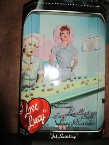 """I Love Lucy """"Job Switch"""" Barbie Doll in box never opened.."""