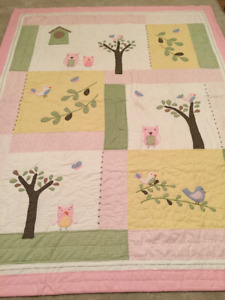 Kids Double Quilt with Sham - Like New!